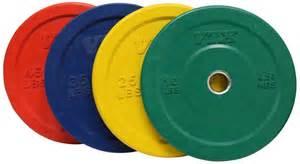 troy colors troy vtx color bumper plate 45lb pair 90lb set