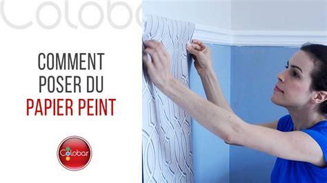 comment poser de la tapisserie poser la tapisserie pose du papier peint classique ou