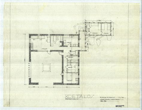 plan drawings architectural drawings of the aalto house alvar aalto shop