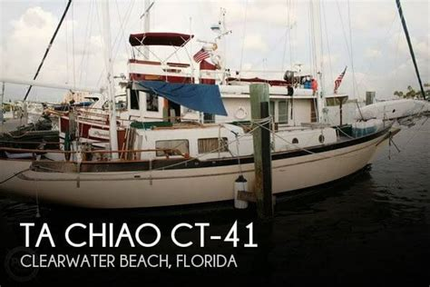 for sale used 1973 ta chiao ct 41 in clearwater beach - Used Boats For Sale Ta Bay Florida
