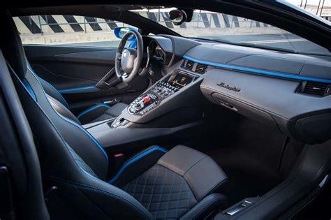 lamborghini aventador interior 2018 lamborghini aventador s drive review