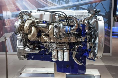volvo fh16 engine new volvo diesel engine d16 6 at the 65th iaa