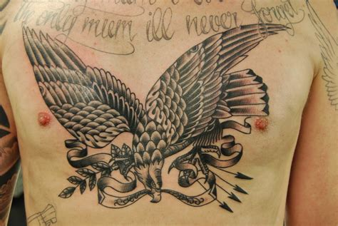 tattoo chest eagle eagle tattoos designs ideas and meaning tattoos for you