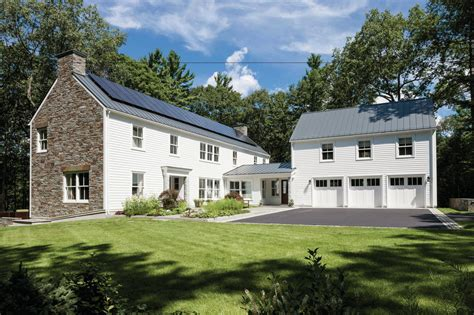 riverfront house plans riverfront farmhouse concord mass custom home