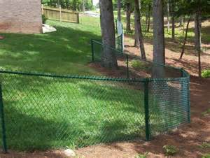 Plastic Trellis Fencing Residential Vinyl Coated And Galvanized Chain Link