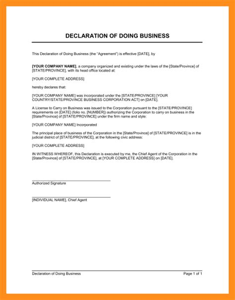 declaration in resume sle is declaration required in resume 28 images