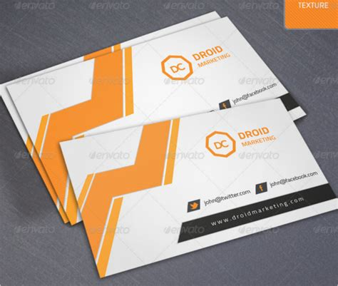 Advertising Business Cards Templates by 35 Marketing Business Card Templates Free Designs