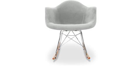 sedia balance sedia a dondolo balance tessuto sedie da soggiorno