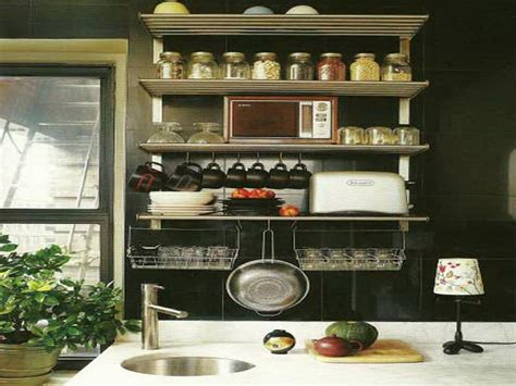 kitchen wall storage ideas small kitchen wall shelving ideas home interior design