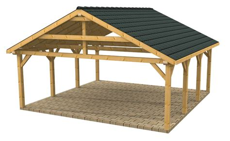 Wooden Car Ports high quality timber buildings wooden carports shelters