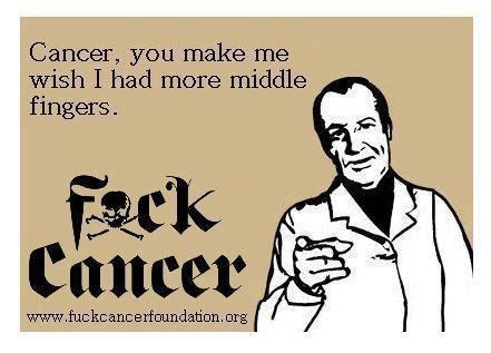 Fuck Cancer Meme - 88 best cancer images on pinterest beat cancer stupid