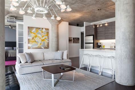 interior design in canada creative with concrete apartment uses a lot of concrete