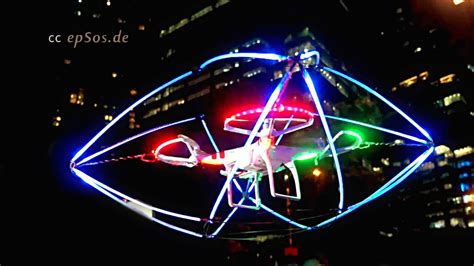 drone with and lights drone ufo mod with led lights