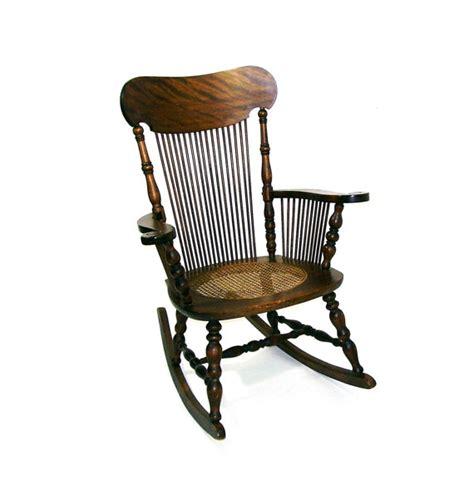 Antique Oak Rocking Chair by Antique Rocking Chair Tiger Oak Wooden Rocker By