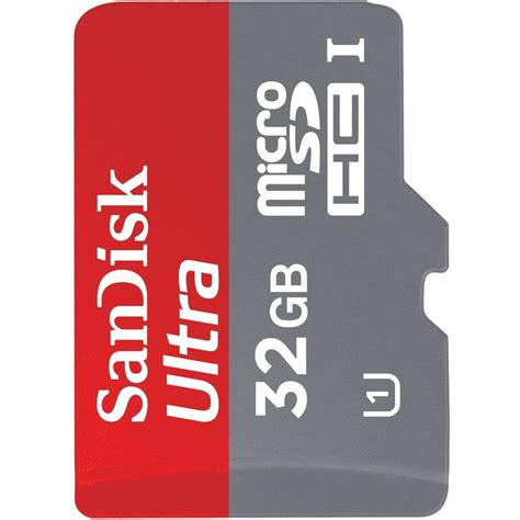 Sandisk 32gb Microsd Class 10 Android card memorie sandisk ultra android microsdhc 32 gb 80mb s