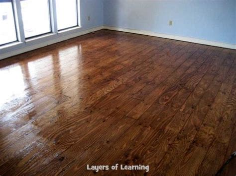 Real Wood Floors Made From Plywood