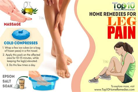 leg injuries home remedies for leg top 10 home remedies