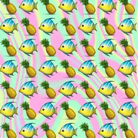 emoji pineapple wallpaper pineapple emoji background images