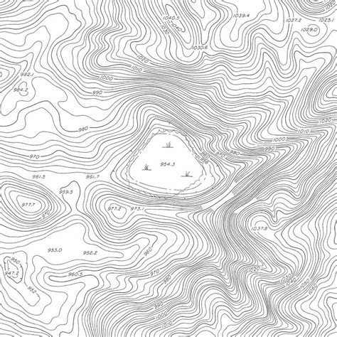 contour lines vector google search topographyterrain