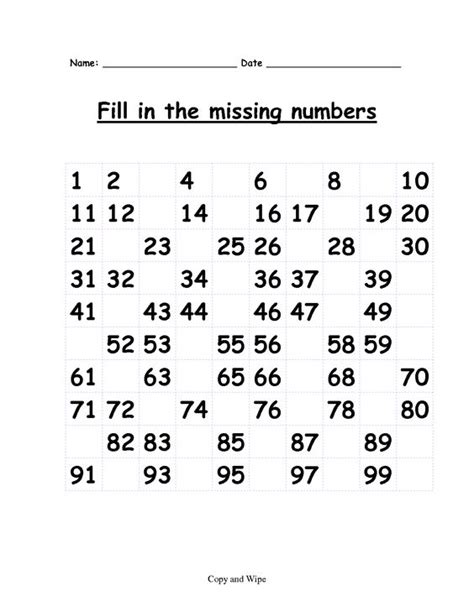 Ist Grade Math Worksheets by Grade Math Worksheets Fill In The Missing Numbers