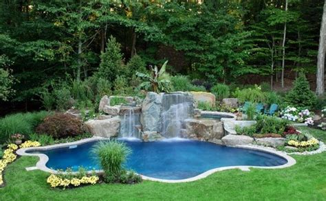 swimmingpool für garten swimming pool in the garden landscape ideas for swimming