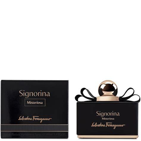 Parfum Signorina salvatore ferragamo signorina misteriosa eau de parfum 100ml free uk delivery