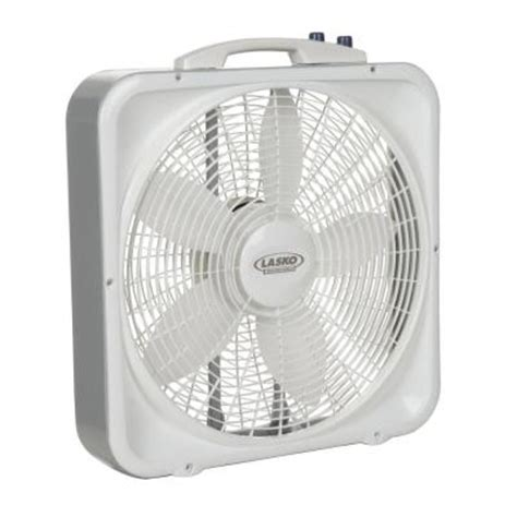 lasko weather shield 20 in 3 speed box fan 3755 the
