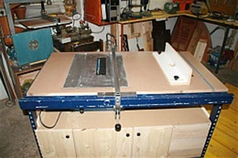 table saw router combo tablesaw and router combo homemadetools