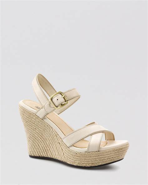 ugg wedge sandals ugg platform wedge sandals jackilyn in beige blank canvas