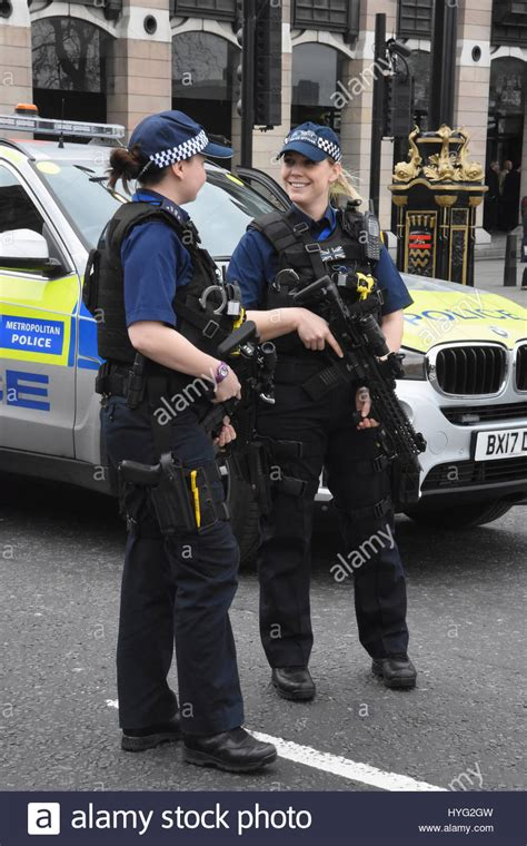 Email Lookup Uk Armed Officers Westminster Uk Stock Photo Royalty Free Image