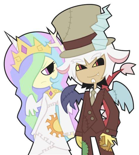 discord anime celestia et discord by nekozneko on deviantart