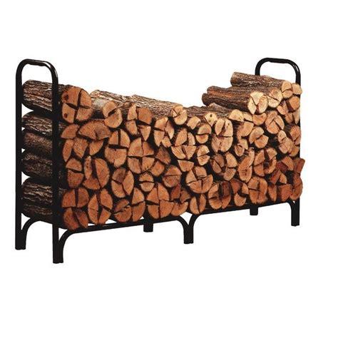 firewood holder firewood rack deluxe outdoor log fireplace holder black 8