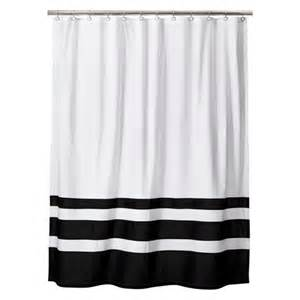 Black And White Bathroom Shower Curtain Styles 2014 Black And White Shower Curtains