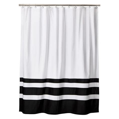 black white curtains target styles 2014 black and white shower curtains