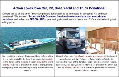 boat parts des moines iowa donate a car iowa car boat rv donations