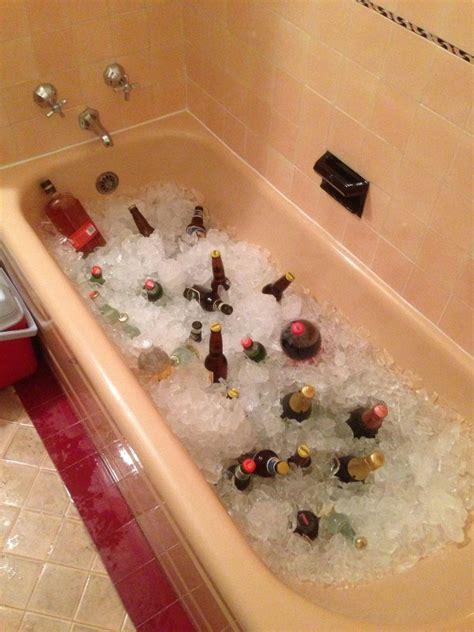 bathtub full of ice billdorman social and more