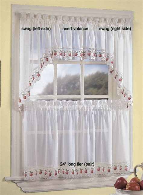 Apple Kitchen Curtains Apple Curtains For Kitchen Apple Kitchen Curtains Everything Log Homes Redroofinnmelvindale