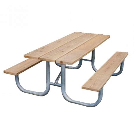 commercial metal picnic table frames only