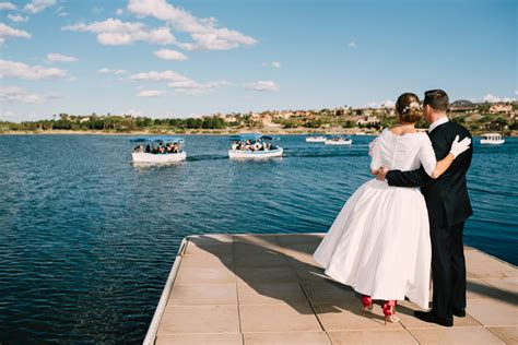 duffy boat rentals lake las vegas waterfront wedding at hilton lake las vegas my hotel wedding