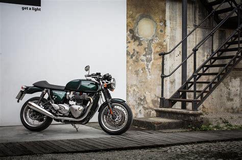 Triumph Motorrad Zubehör Online Shop by Triumph Thruxton Und Thruxton R Test 2016 Motorrad Fotos