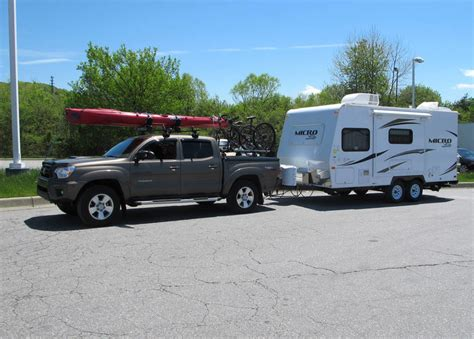 Toyota Tacoma Towing 2012 Tacoma Towing Flagstaff Micro Lite Travel Trailer My