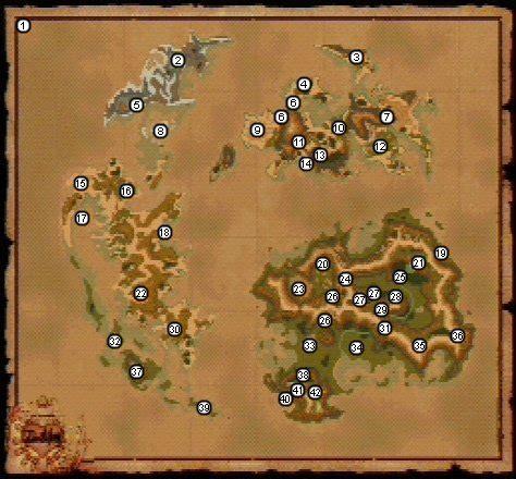 ff9 world map theme final fantasy ix map