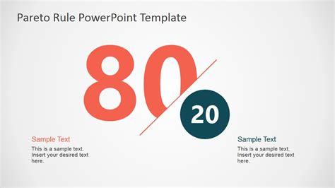 powerpoint design rules pareto principle powerpoint template slidemodel