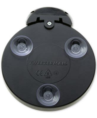tweezerman 15x lighted mirror simplehuman wall mount lighted sensor activated magnifying