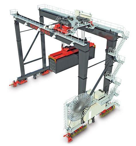 rubber sts definition automatic stacking cranes container cranes konecranes