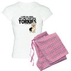 yorkie pajamas yorkies pajamas and sleep on
