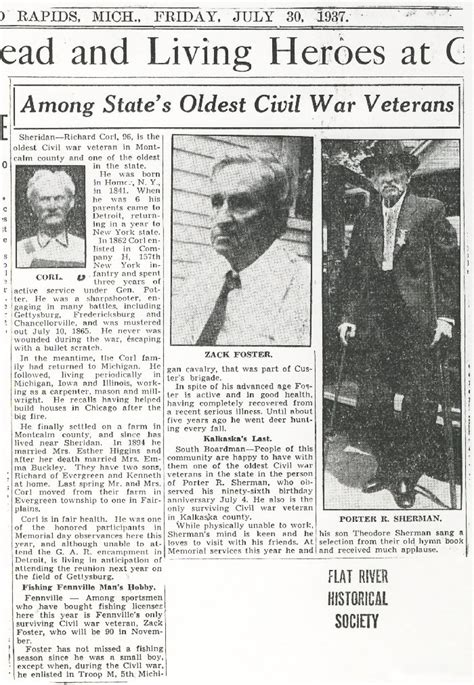 Michigan Civil Search Oldest Civil War Veterans