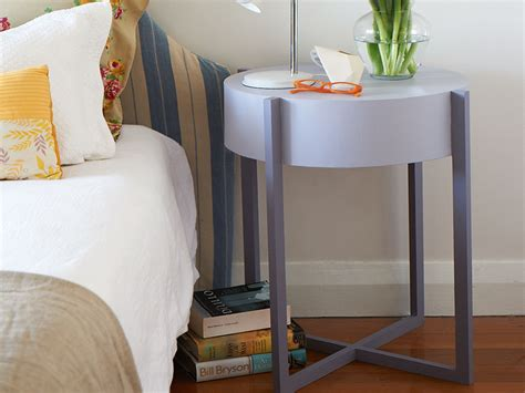 creative round bedside table quickinfoway interior ideas the world of round bedside table