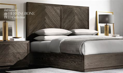 rh beds bed furniture collections rh