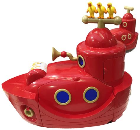big boat toy twirlywoos big red boat toy from golden bear